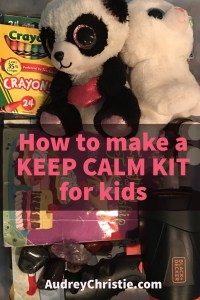 keep calm kit for kids