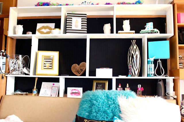 dorm tour - Texas Tech Dorm Rooms Tour by popular Texas lifestyle blogger Audrey Madison Stowe