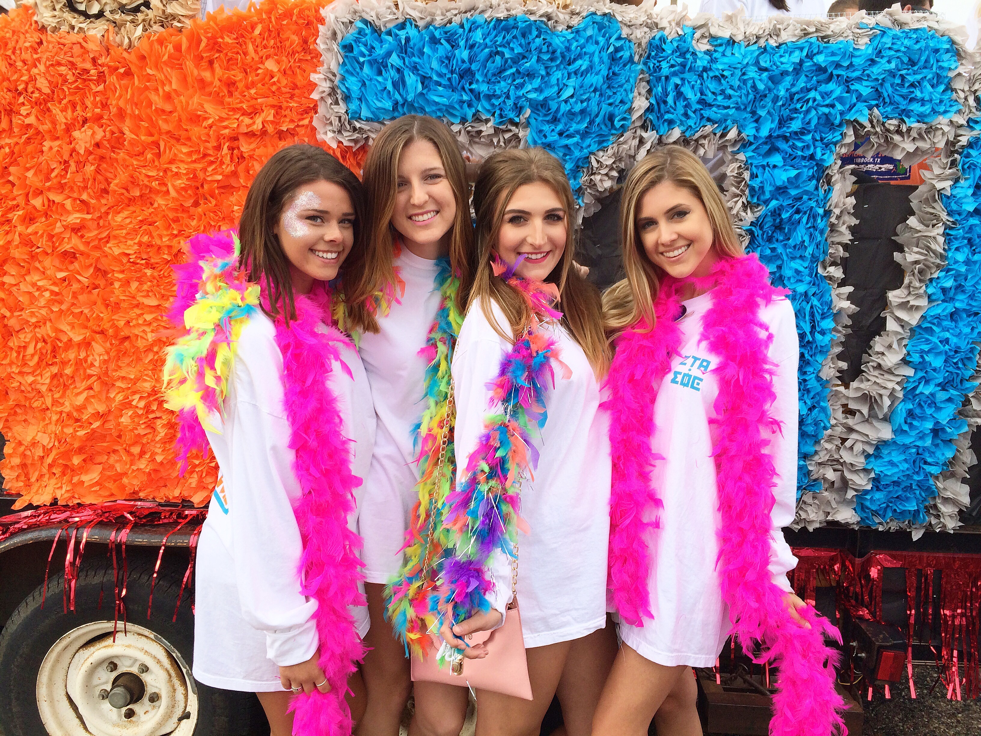 college homecoming with zeta tau alpha 2015