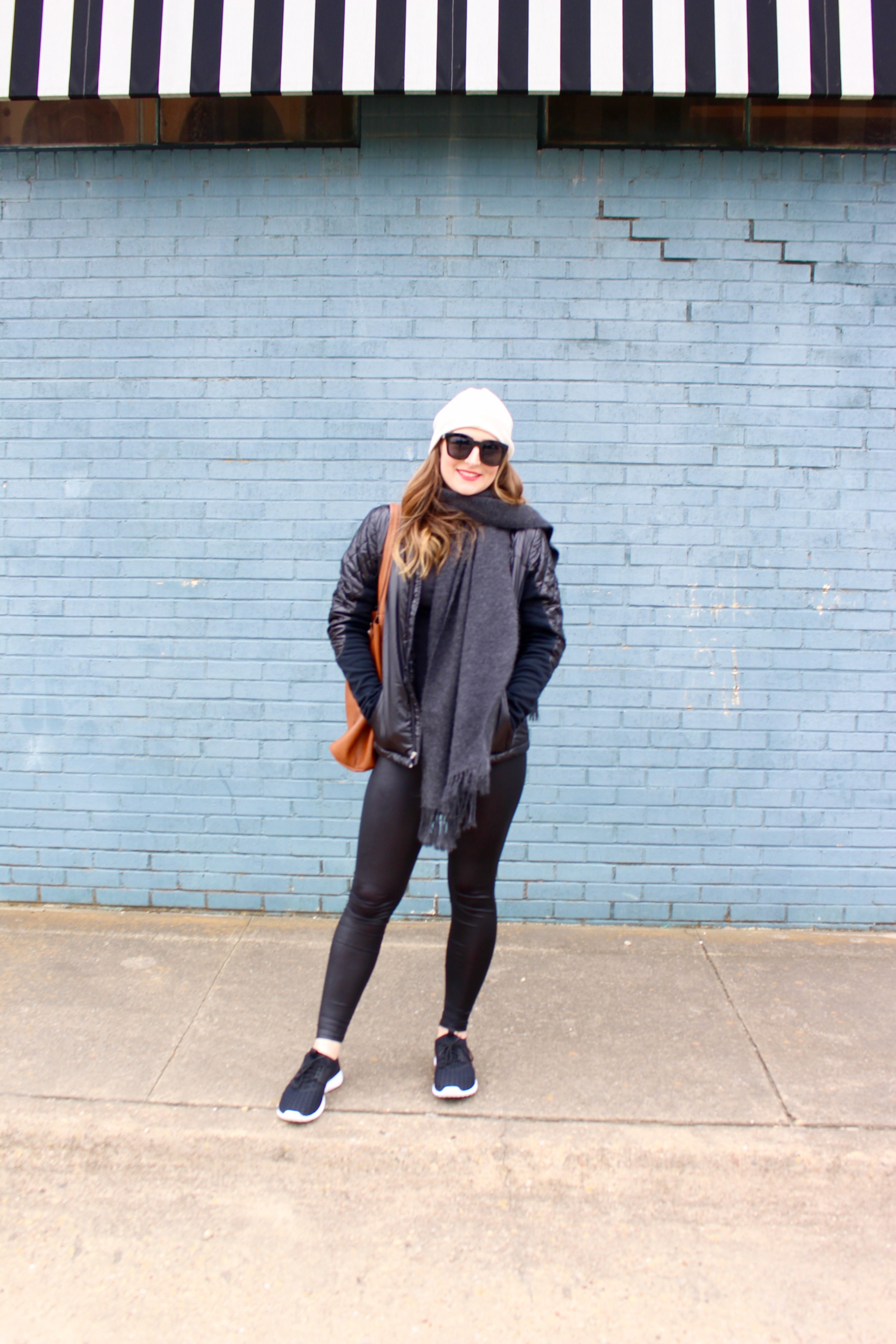 casual and warm street style