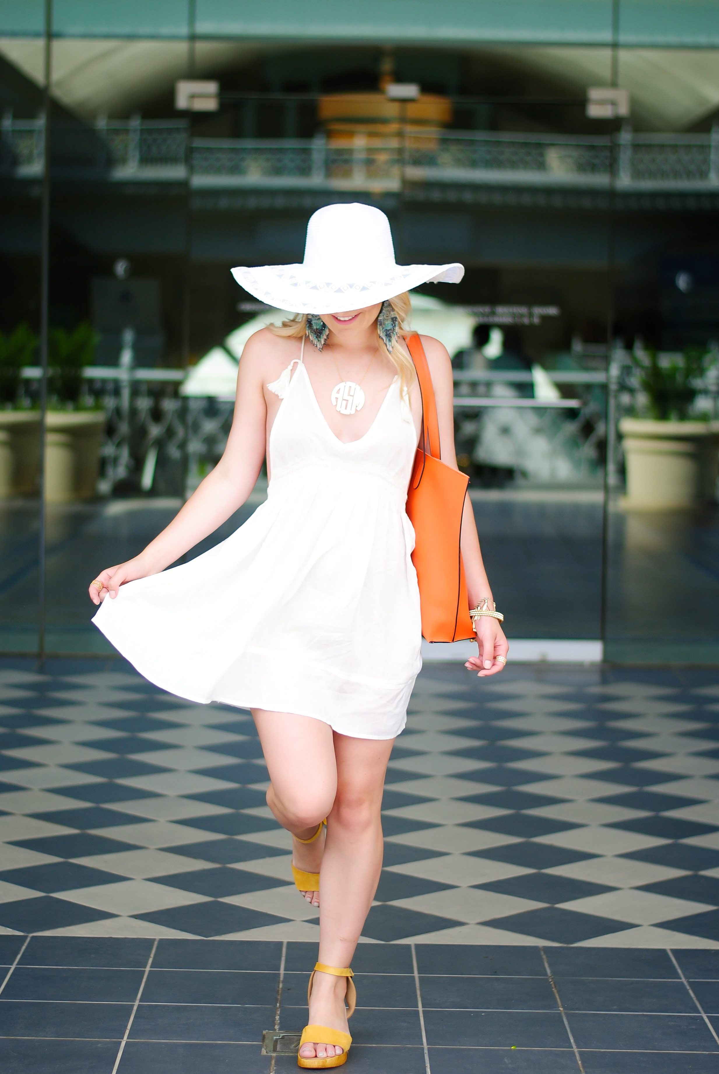 luxury travel vacation wear with topshop | Audrey Madison Stowe Blog