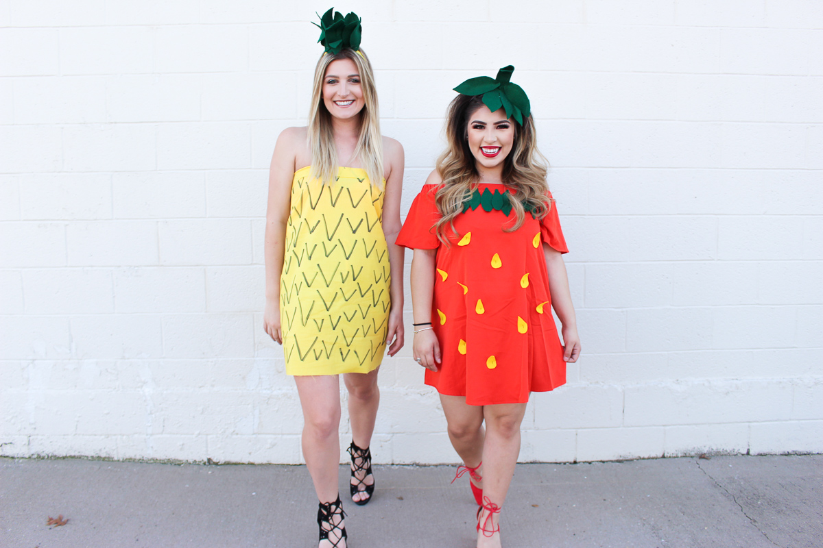 Strawberry & Pineapple Halloween Costume | AMS Blog