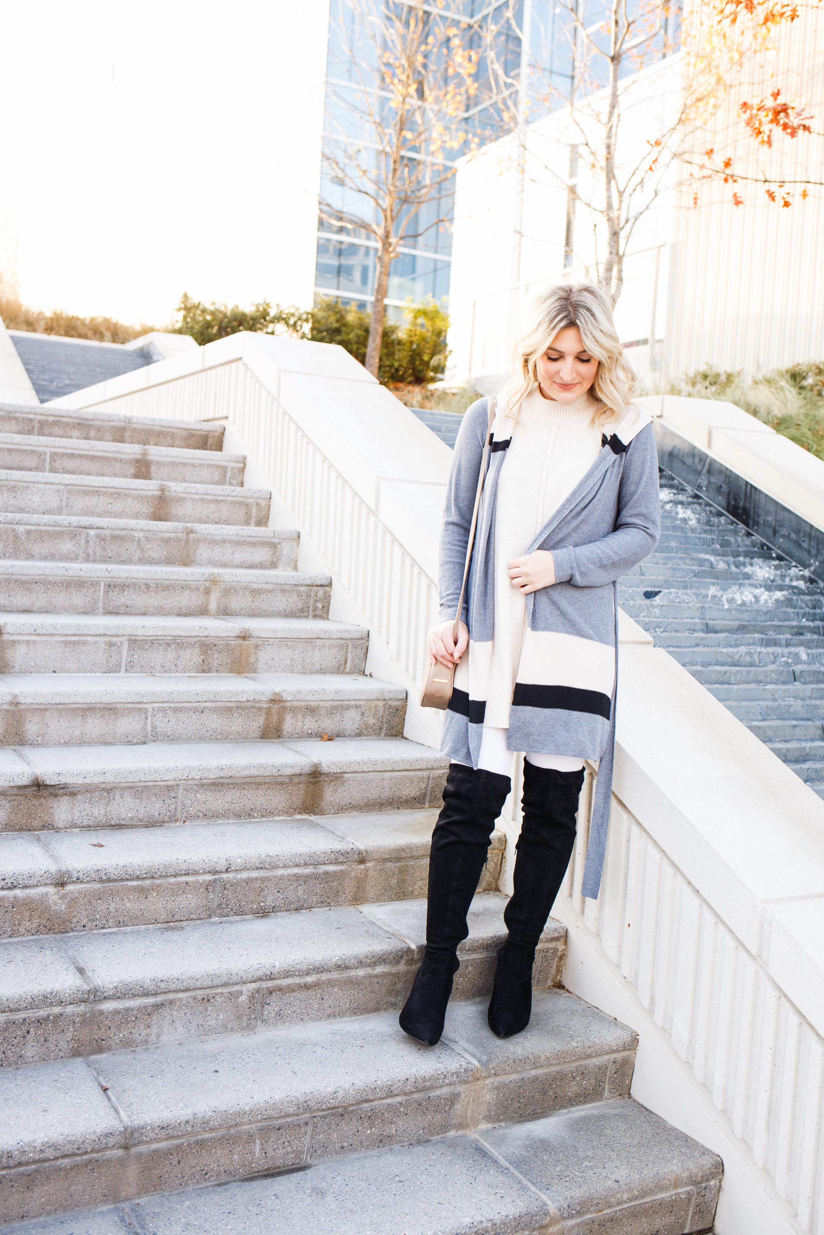Winter Shades of White & Cream   AMS Blog   Dallas/ Lubbock college fashion blogger