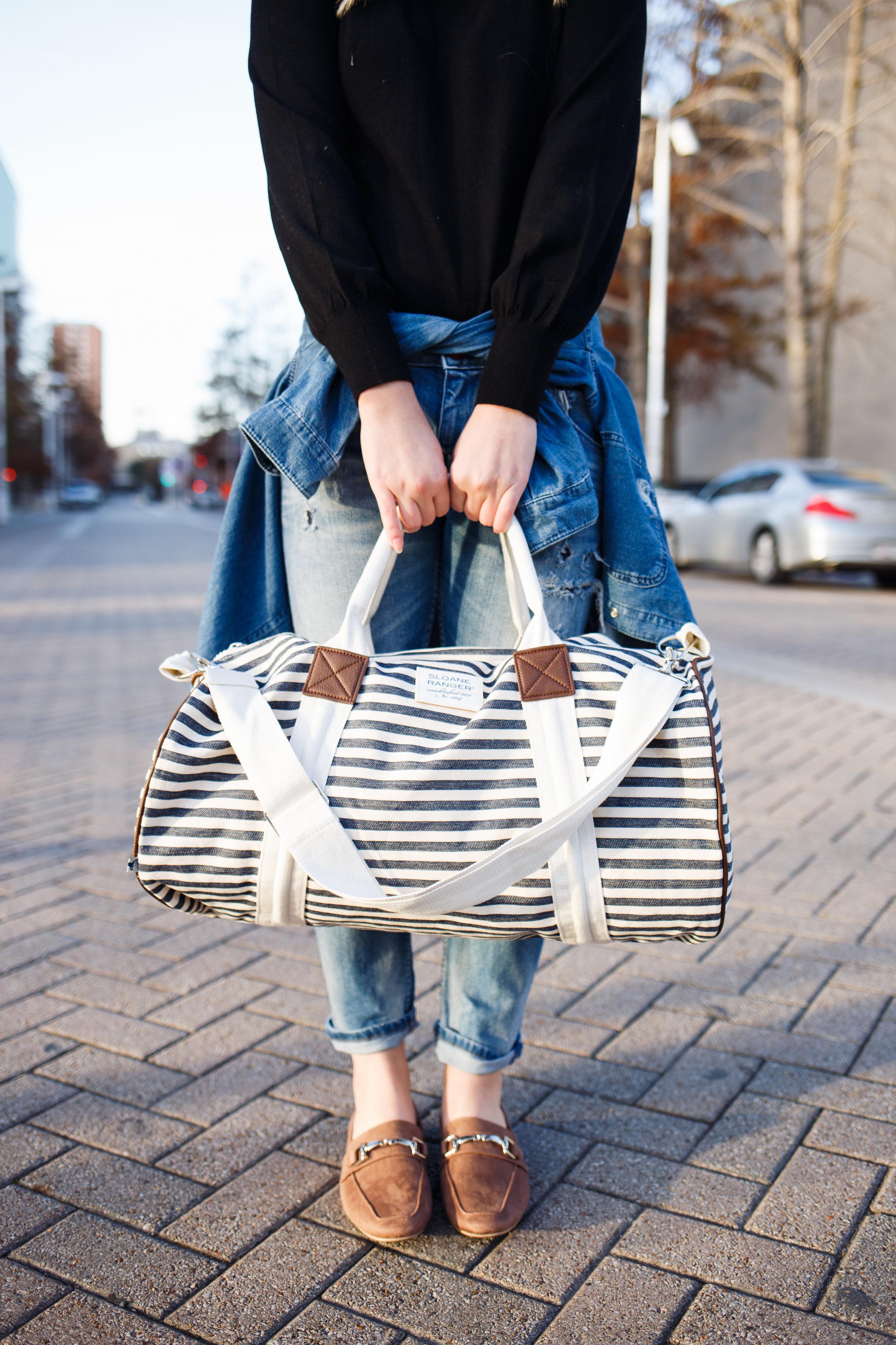 Weekender bag & Home to Lubbock | AMS Blog