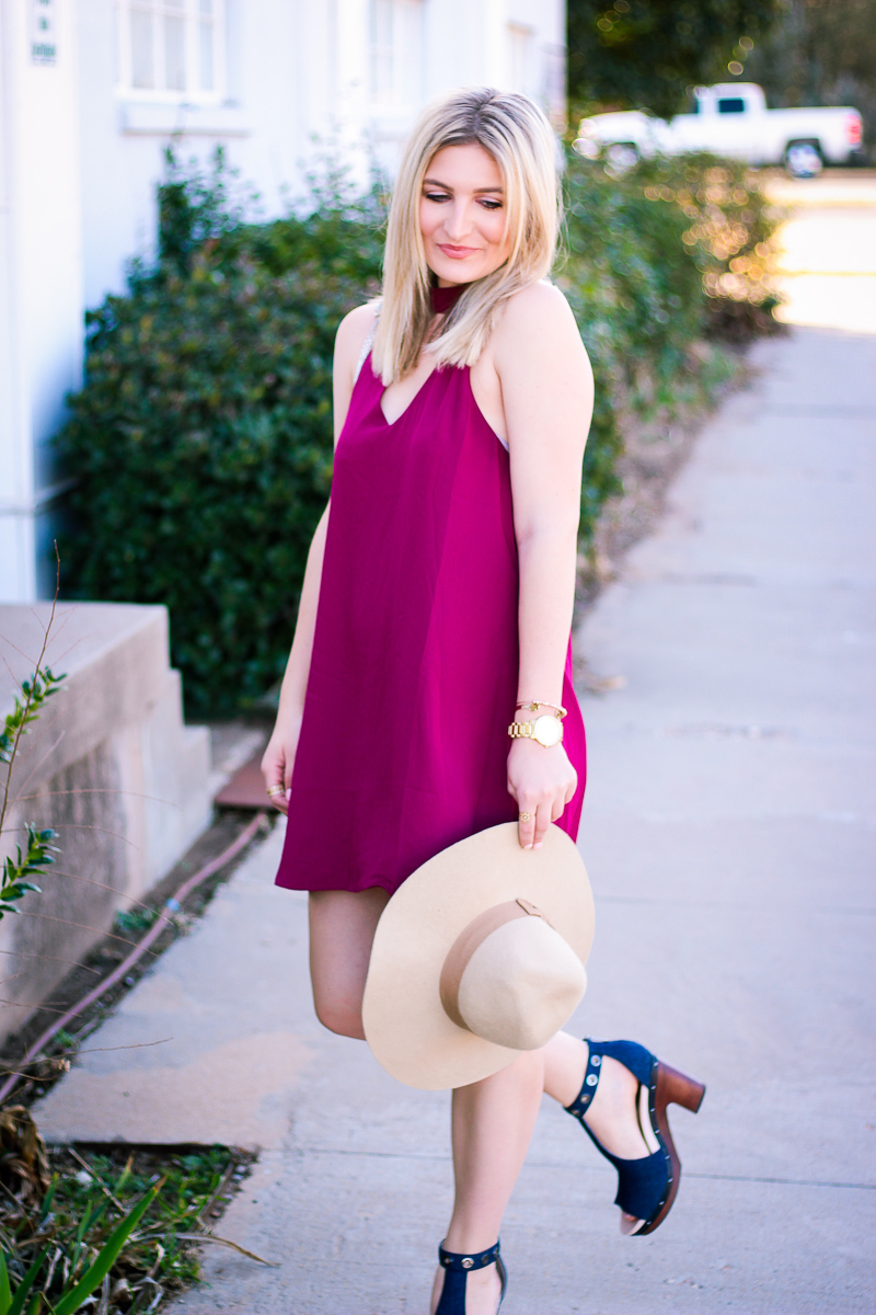 Spring Denim Heels With Jambu Footwear   by life and fashion blogger Audrey Madison Stowe