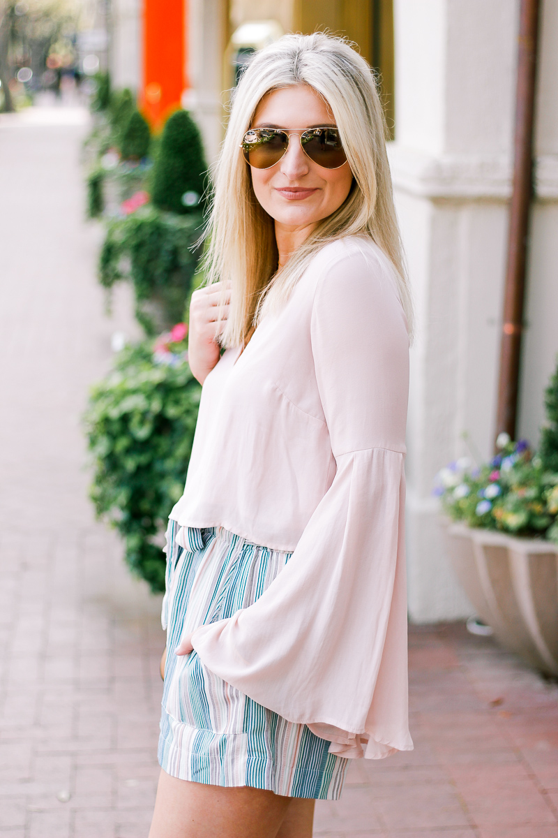 How to style a crop top and buy one for your body by lifestyle and fashion college blogger Audrey Madison Stowe