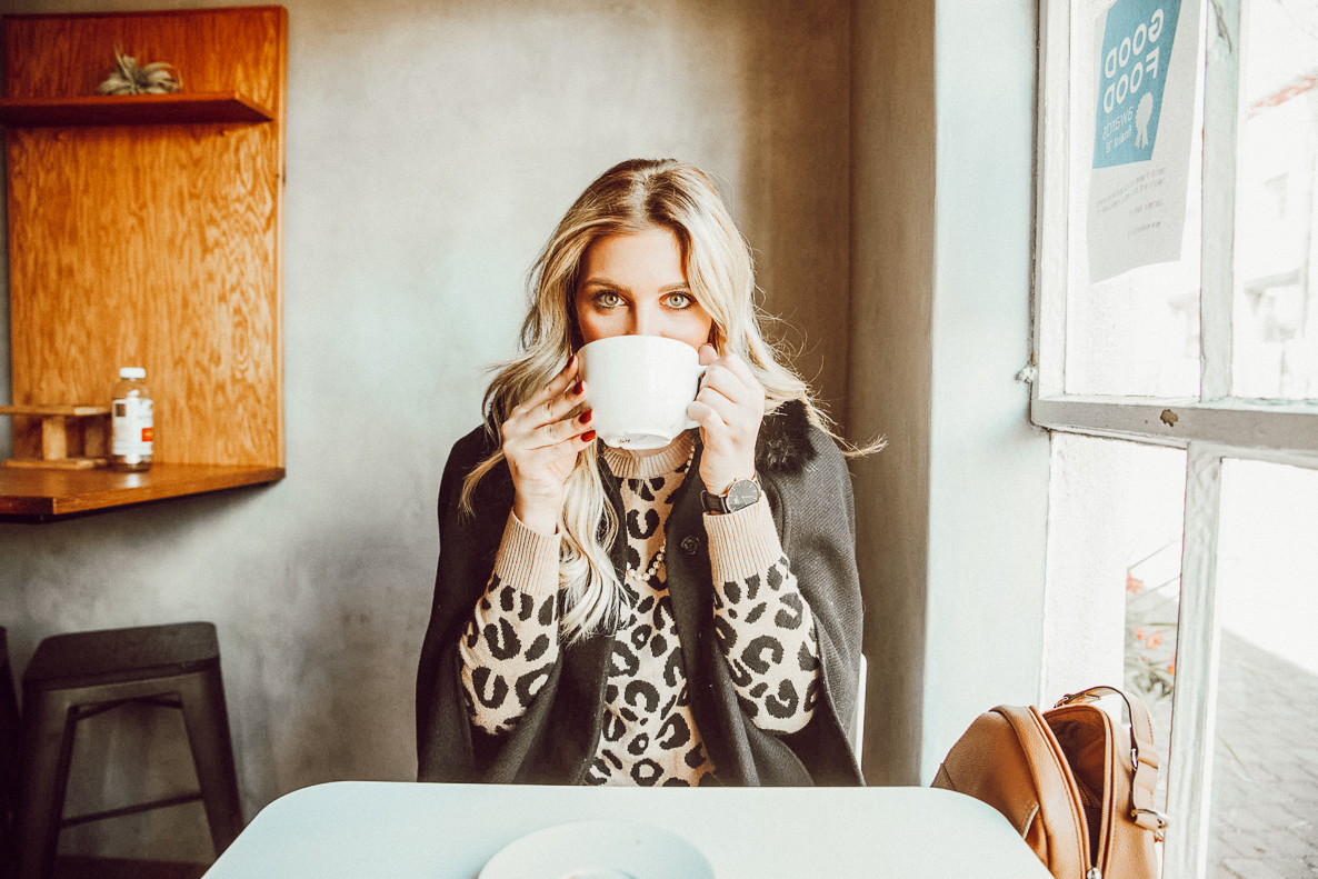 Leopard Neutral Holiday Inspiration Look | Audrey Madison Stowe a fashion and lifestyle blogger