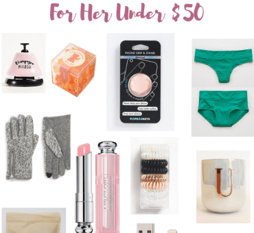 Stocking Stuffers For Her Under $50 | Affordable Stocking Stuffers | Audrey Madison Stowe a fashion and lifestyle blogger