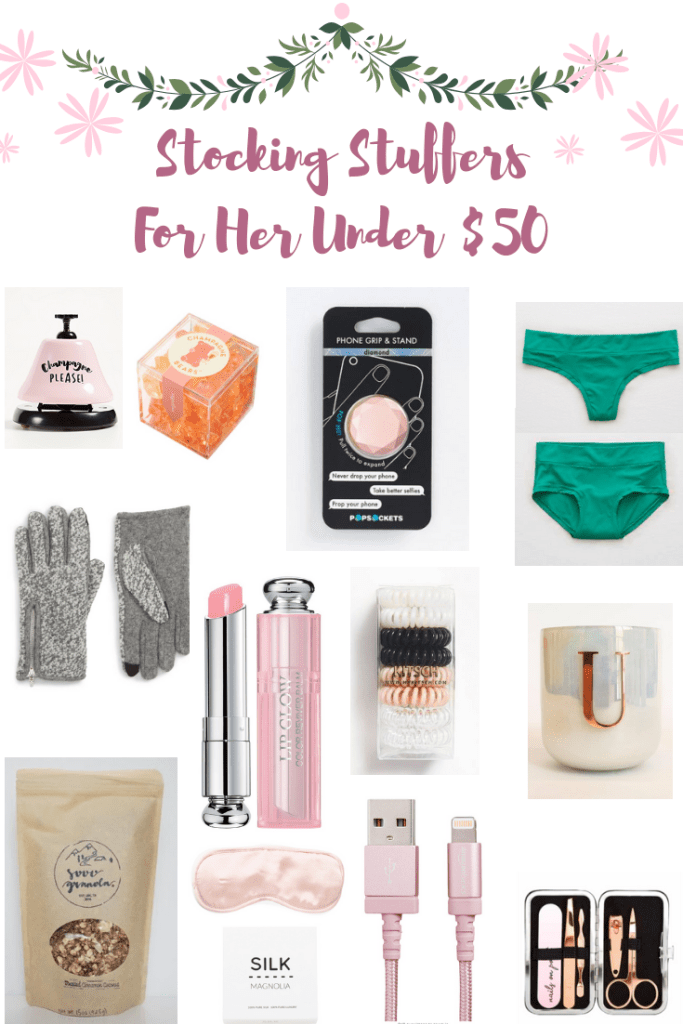 Manicure Kit | Blanket | Gloves | Affordable | Stocking Stuffer Ideas Under $50 featured by top Texas life and style blogger Audrey Madison Stowe