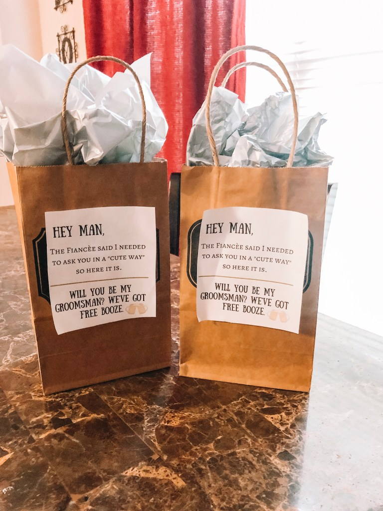 DIY Groomsmen Gifts featured by top US lifestyle blogger Audrey Madison Stowe