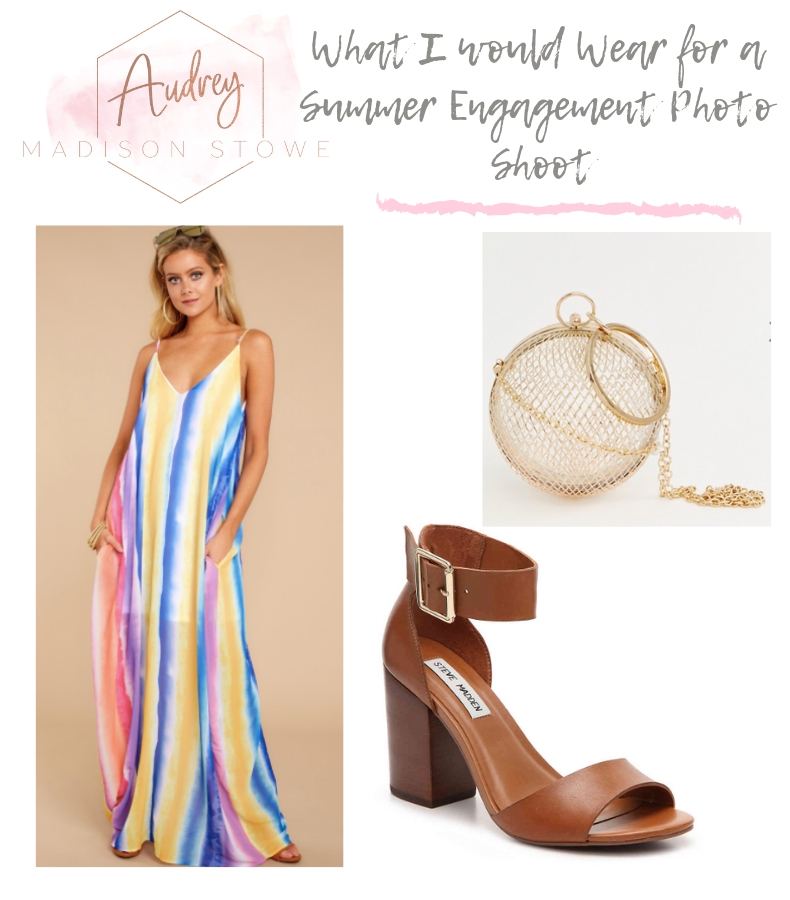 What to Wear For Engagement Photos in the Summer | Audrey Madison Stowe a fashion and lifestyle blogger in Texas