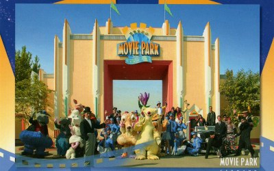 I'm the new voice of Movie Park Germany!