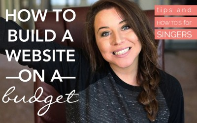 How to Create a Music Website on a Budget