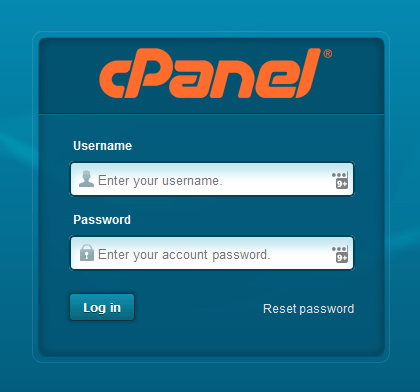 cpanel for your music website