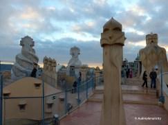 Roof top of La Pedera