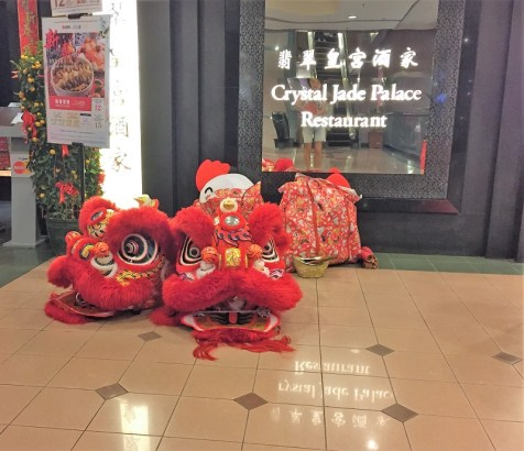 Lunar New Year Celebration Lion Dance