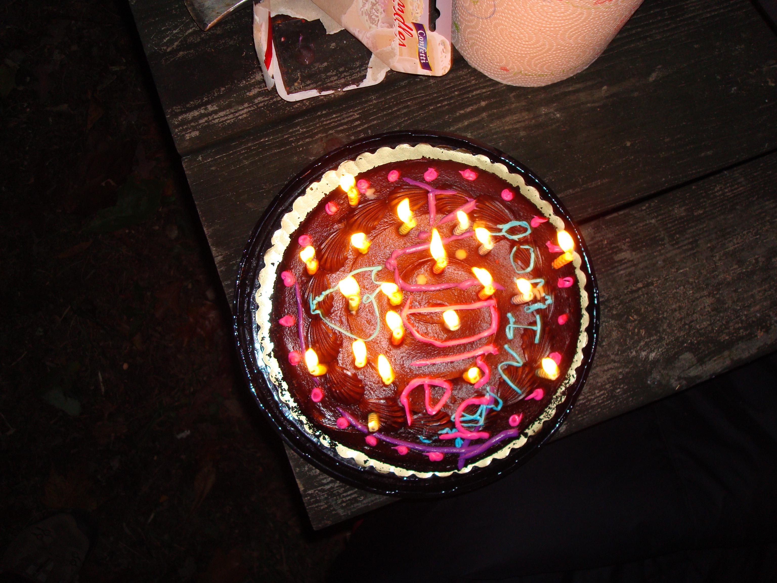 audrey bday cake