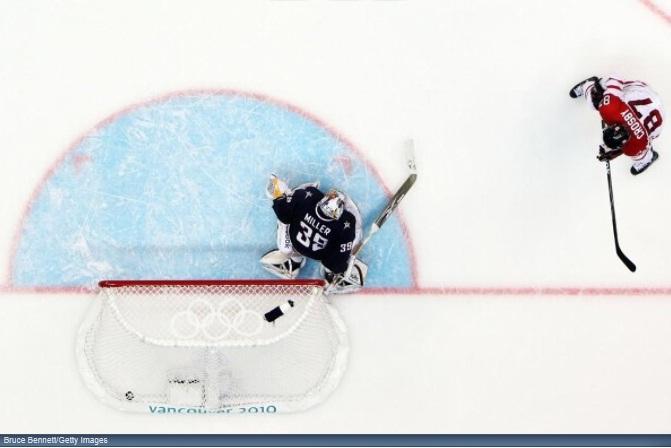 Crosby Medal Goal