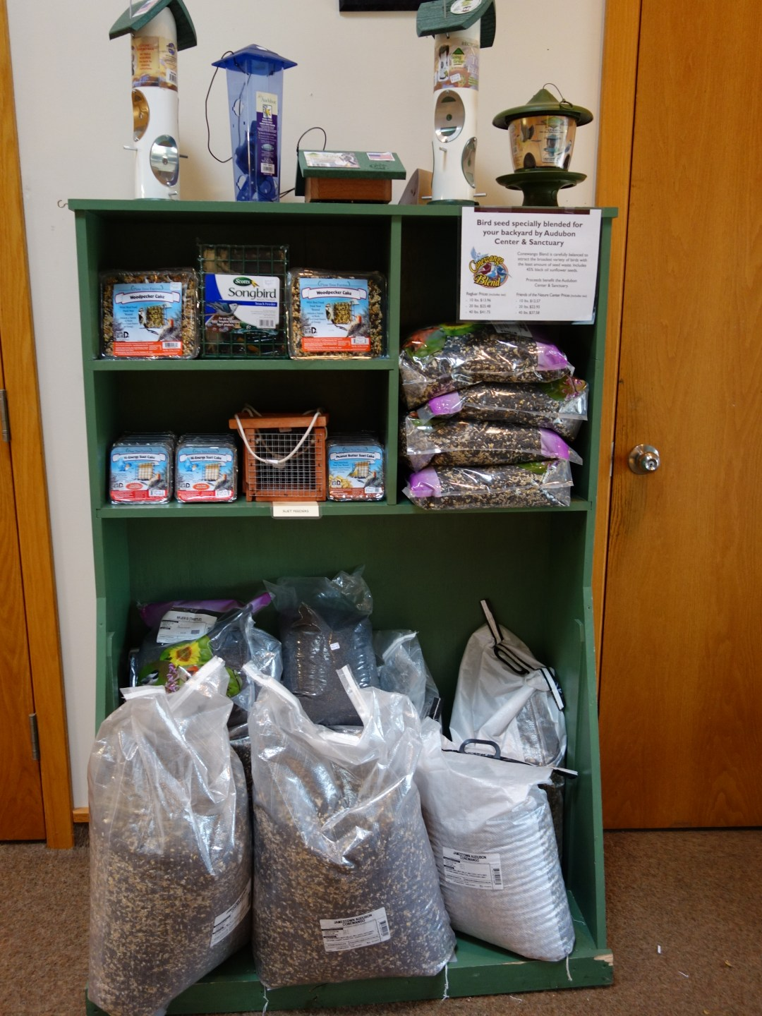 The Blue Heron Gift Shop's very own Conewango Blend is sold year round.