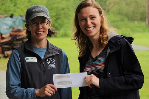 Heather Zimba Receives Audubon Community Nature Center Scholarship