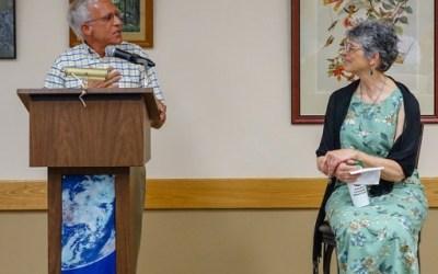 Retired President Ruth Lundin Honored by Audubon Community Nature Center