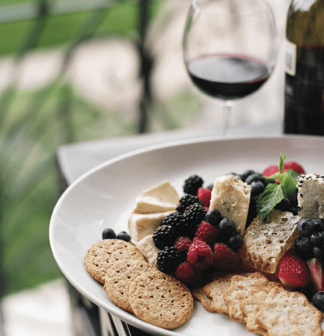 audubon park garden district WIne and cheese pairing