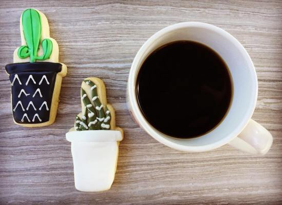 coffee and cookies