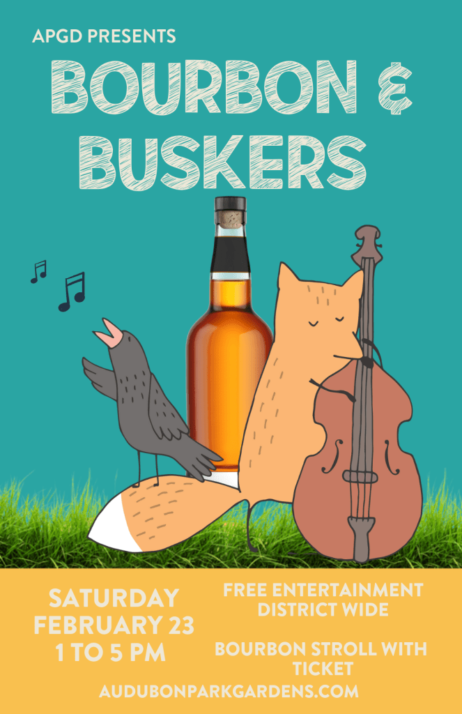 Bourbon and Buskers Festival Orlando Florida in the Audubon Park Garden District