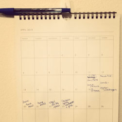 Lots of Meal Planning - months later, we're getting the hang of it