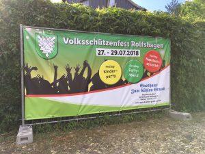 Banner für Veranstaltungen und Events