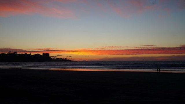 La Jolla, Sonnenuntergang