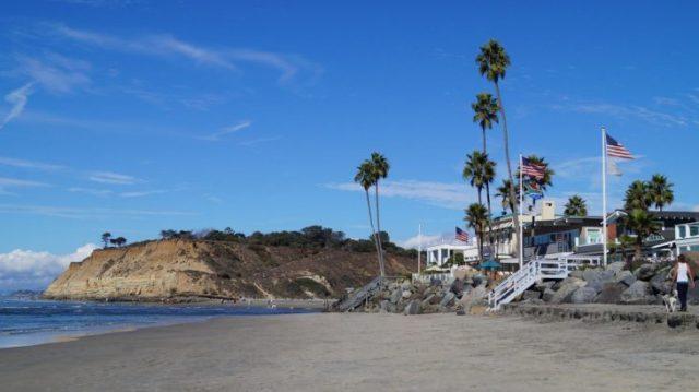 Strand bei San Diego