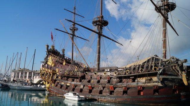 Kreuzfahrt Genua: Piratenschiff Neptun