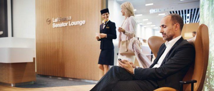 In die Lufthansa Lounge mit dem Billigticket – Cool!