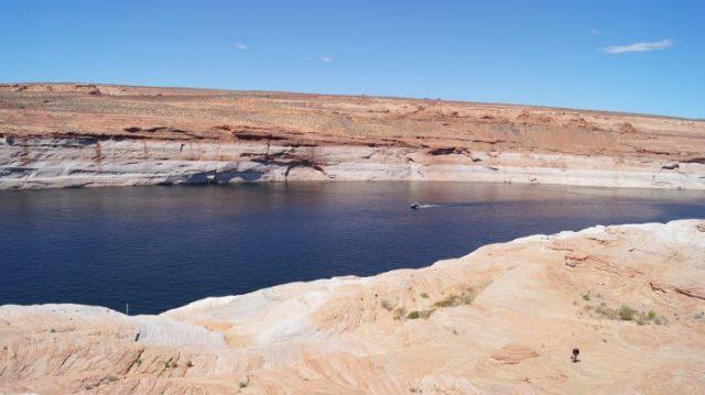 Mit dem Boot durch den Glen Canyon