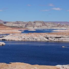 Blauer See Lake Powell in Arizona