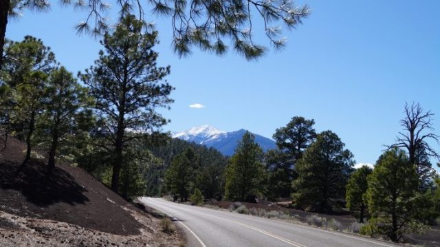 Humphreys Peak in Flagstaff