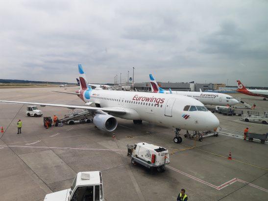 Eurowings - ohne Treibstoffzuschlag