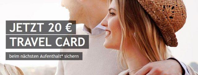 Travel Card geschenkt: 20 Euro Best Western Gutschein