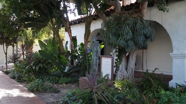 Innenhof der Mission San Diego de Alcalá
