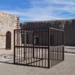 Käfig im Gefängnis von Yuma