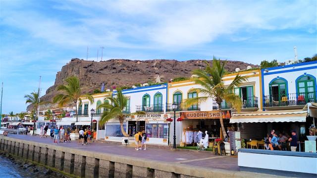 Puerto de Mogan wirkt wie ein Piratendorf