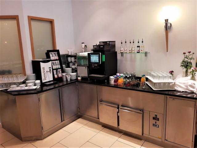 Getränkebuffet im Holiday Inn Nürnberg