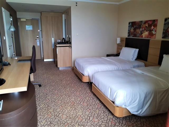 Betten im Hilton