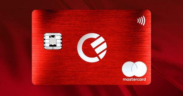 Curve Kreditkarte aus Metall