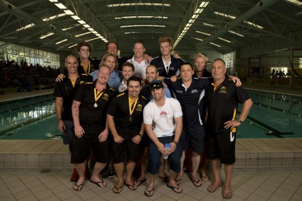 2013 Australian Men's Underwater Hockey team. Photo by Jack Robert-Tissot.