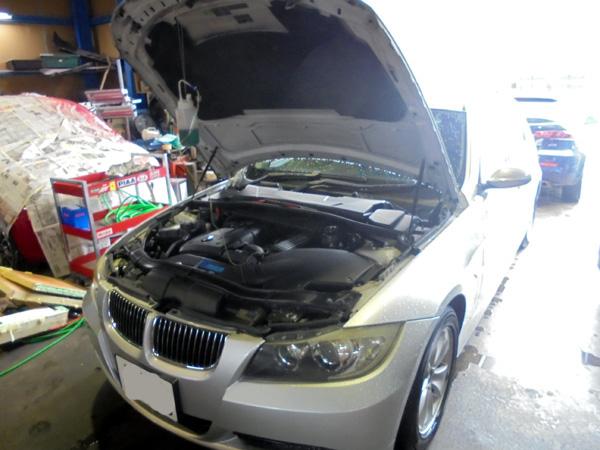 BMW 325 RECS施工