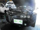 アルファロメオ ブレラ エンジンオイル交換&ラジエーターホース交換