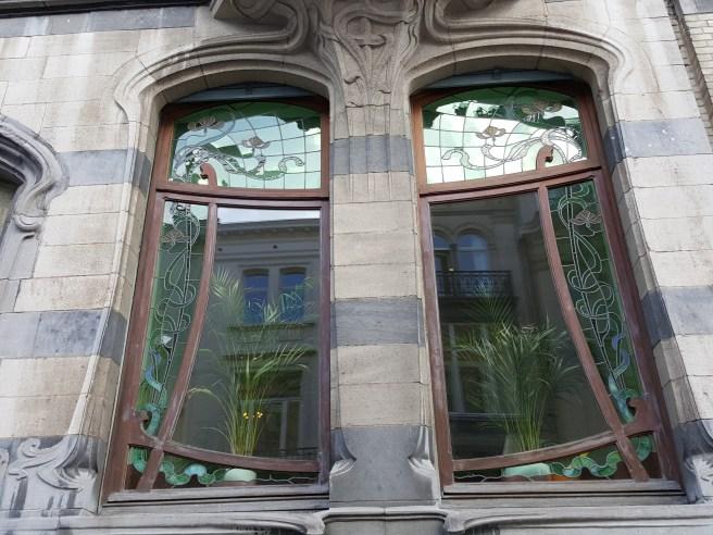 Décor Art Nouveau Bruxelles Fenêtre Grenouille