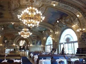 Train bleu Paris